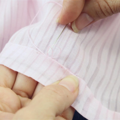 How to Hem a Dress by Hand