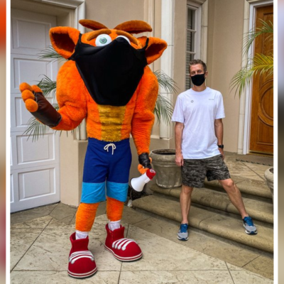 10 Questions I Have About This Weird Crash Bandicoot Mascot Photo