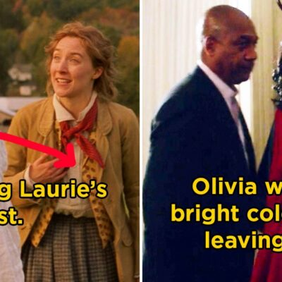 25 Details From Iconic Movies And TV Shows That Prove Costume Designers Are Unsung Heroes