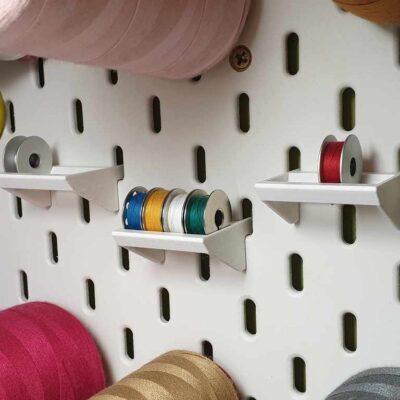 IKEA SKADIS Bobbin Holder Shelf #3DThursday #3DPrinting
