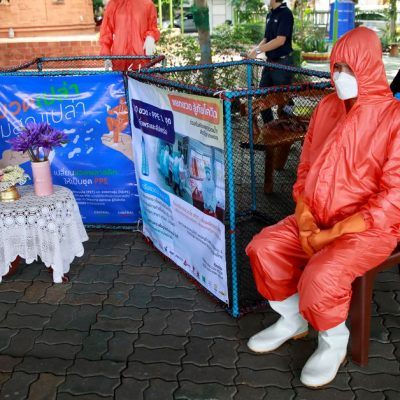 Trash to treasure: Thailand makes COVID-19 protective gear out of upcycled bottles – Reuters