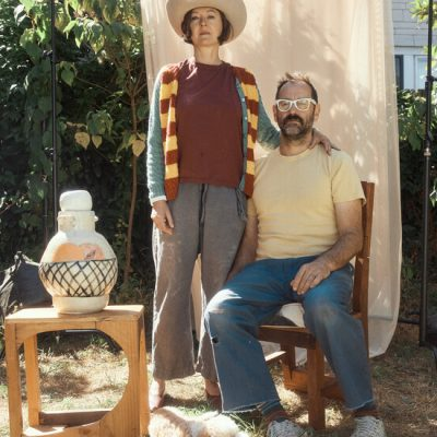 An Artist Couple Who Live Among the Furniture They Create Together
